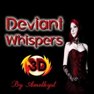 Deviant Whispers 3D Logo